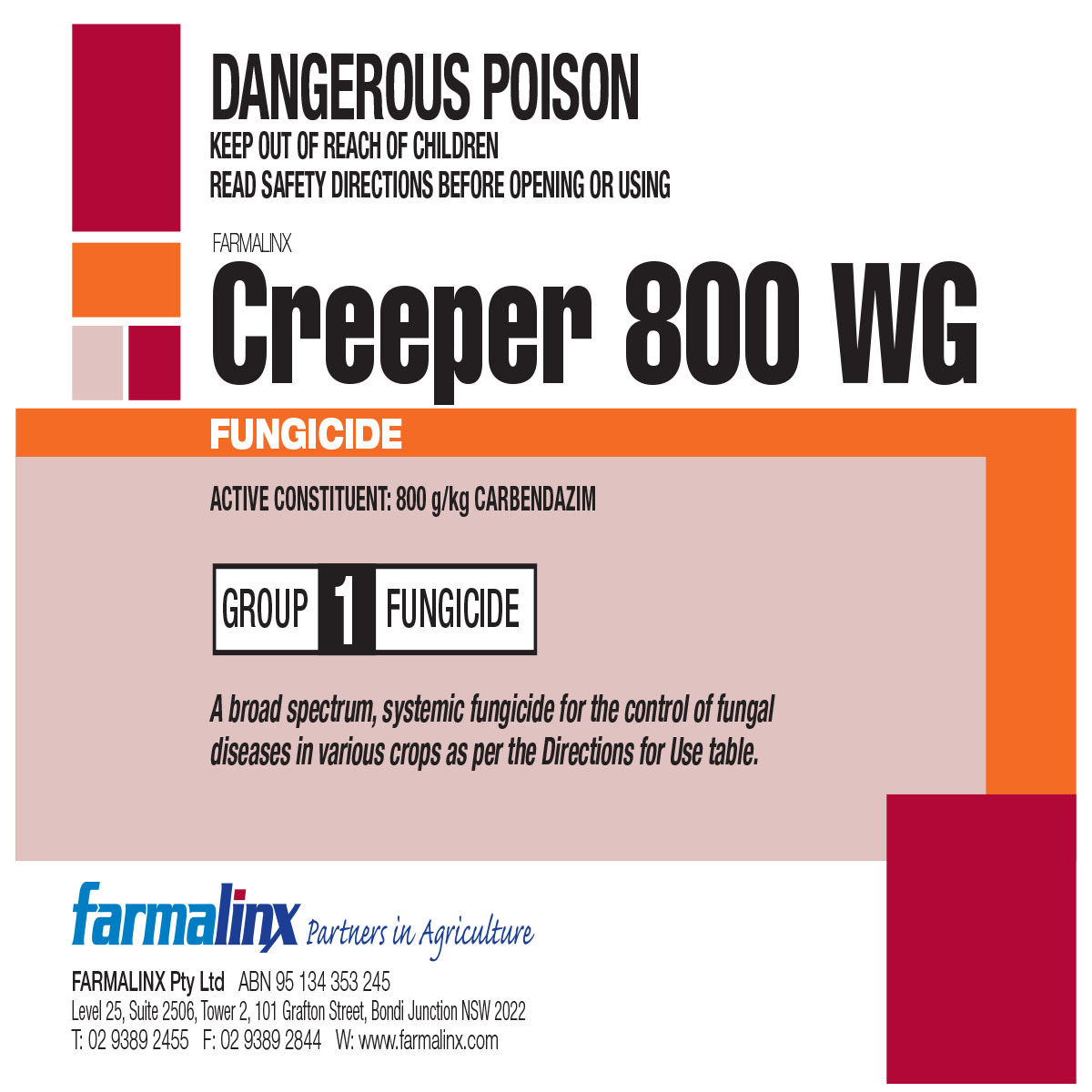 This is a graphic of Simplicity Captan 80 Wg Label